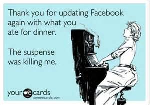 facebook dinner meme