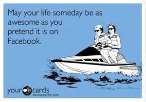 pretend facebook meme