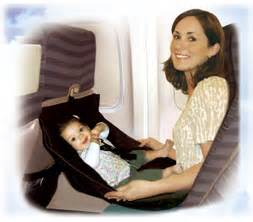 airplane baby seat