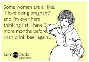drink pregnant