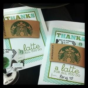 thanks a latte gram