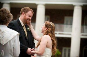 wedding wipe tear