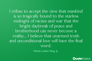 mlk peace quote